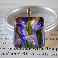 Bliss Glass Tile Pendant